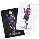 V4 flower Reversible Poster
