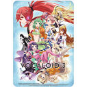 VOCALOID3 Mousepad Blue