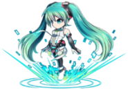 Hatsune Miku Brave Frontier 2