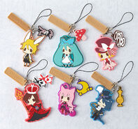 Alice in Musicland rubber straps