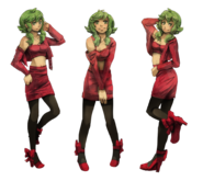 GUMI in Burn Me Down