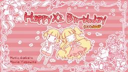 """Image of """"HappyX2 Birthday"""""""