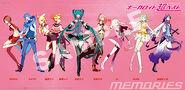 VOCALOID 超BEST -memories- poster