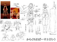 Concept art Karakuri Burst Rin