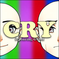 Gumi Cry Cover Art Single