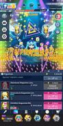 MikuTap Super Concert Mode with Figurines Menu
