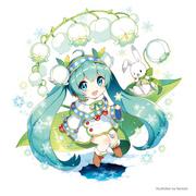 Snow Miku 2015 Main Visual 2