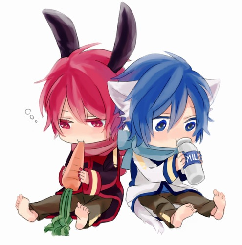 Imagen - Kaito&Akaito.jpg   Vocaloid Wiki   FANDOM powered ... Vocaloid Kaito Wiki