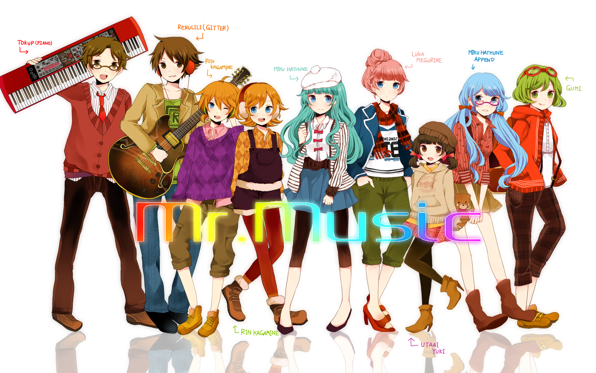 Mr Music | Vocaloid Wiki | FANDOM powered by Wikia