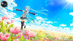 "Image of ""Birthday Song for ミク (Birthday Song for Miku)"""
