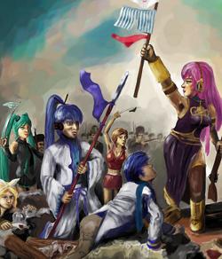 FIGHT FOR FREE Atakuata-P