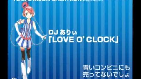 【あきこロイドちゃん】LOVE 'O CLOCK【LAWSON】