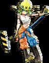 Vocaloid Gumi plantilla esbozo 3