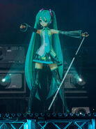 Miku performing 39 at Magical Mirai
