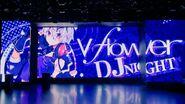 LED Screen v flower DJ NIGHT