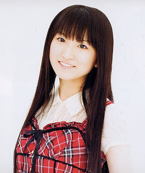 Voice provider Saki Fujita