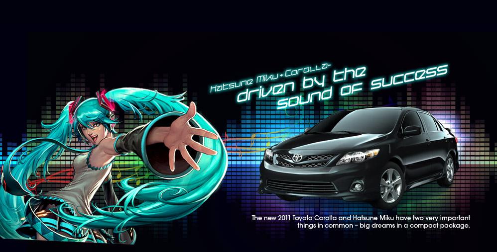Toyota Of Alvin >> Toyota Corolla Campaign | Vocaloid Wiki | FANDOM powered ...