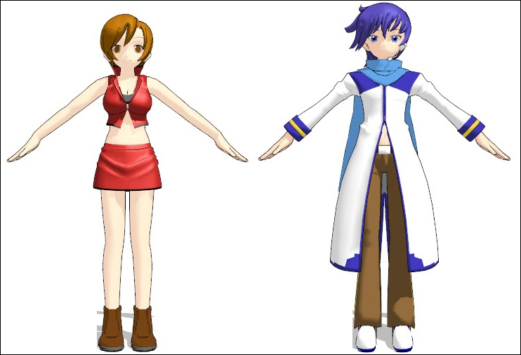 image mmdmodel meiko kaito animasa jpg vocaloid wiki fandom