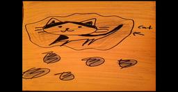 "Image of ""Cat in a RainCloud"""