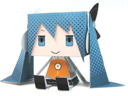Miku odds and ends papercraft