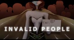 """Image of """"INVALID PEOPLE"""""""
