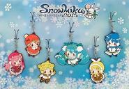 Snow Miku 2015 Rubber Strap Set