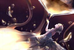 """Image of """"莎图温的裙摆 (Saturn de Qún Bǎi)"""""""