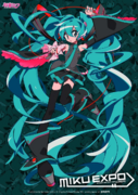 Miku Expo Europe Main Visual