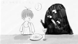"Image of ""一只黑黑的妖怪住进了我家 (Yī Zhǐ Hēi Hēi de Yāoguài Zhù Jìnle Wǒjiā)"""