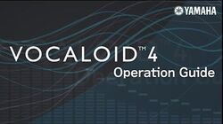VOCALOID4 Operation Guide