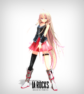 IA ROCKS Official MMD Model