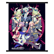 Miku Expo NA Wall Scroll 2