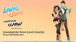 Gravedad del Amor ft Bruno Clara