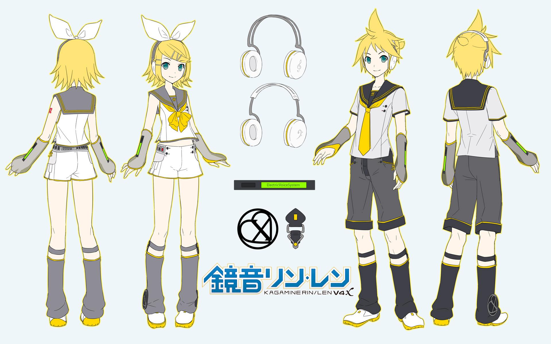 Serien Len image rin len v4x concept hq jpg vocaloid wiki fandom powered