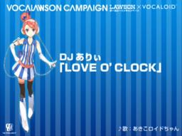 "Image of ""LOVE 'O CLOCK"""