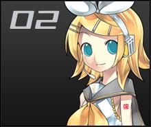 Lineup CV02 Rin's first illust