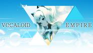 SeeU x VOCALOID EMPIRE логотип
