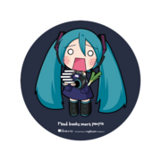 Miku Expo NA Kinokuniya Badge