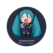 Miku Expo NA Kinokuniya Badge