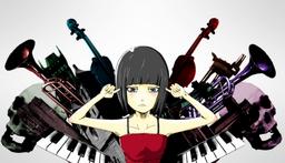 "Image of ""骸骨楽団とリリア (Gaikotsu Gakudan to Lilia)"""