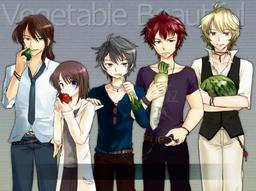 """Image of """"ベジタブル・ビューティフル (Vegetable Beautiful)"""""""
