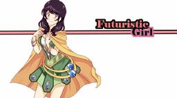 "Image of ""Futuristic Girl"""
