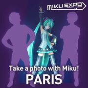 Take A Photo With miku Paris