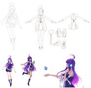 Violet concept art