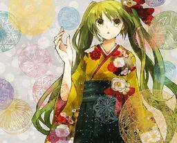 "Image of ""夢と葉桜 (Yume to Hazakura)"""