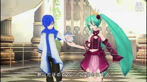 Hatsune miku Project DIVA 2nd HD Cantarella(Kaito