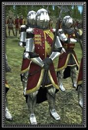 Dismounted english knights info