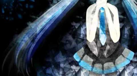 Kyrie eleison- Hatsune Miku Append (Dark)- PV- Full Romaji Lyrics on Screen