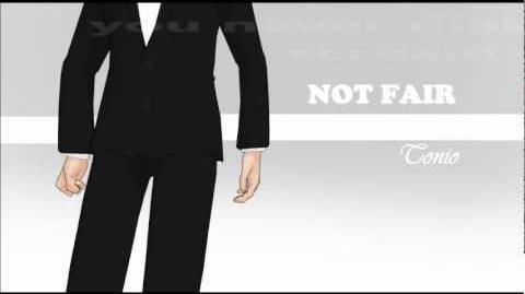 Tonio Not Fair Lily allen cover