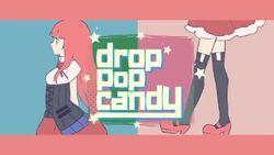 Drop pop candy
